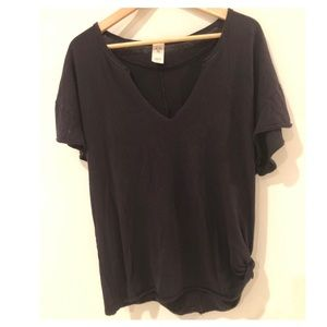 We The Free Free People Side tie oversized tee S